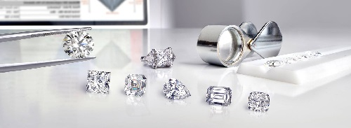 loose diamonds 4cs